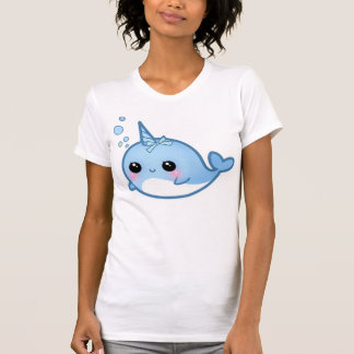 Bebé lindo narwhal t-shirts