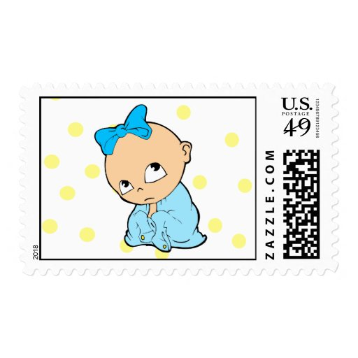 Bebé lindo sello