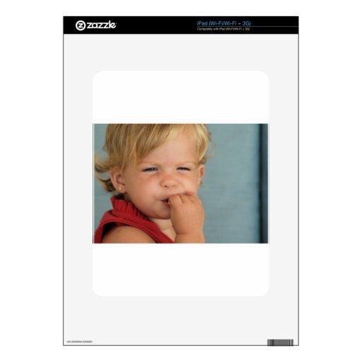 bebé lindo skins para iPad