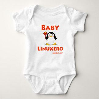 Bebé Linuxero Playeras