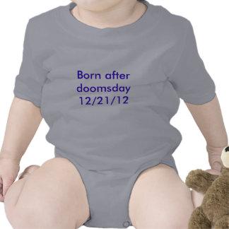 Bebé llevado después del día del juicio final 12 2 traje de bebé