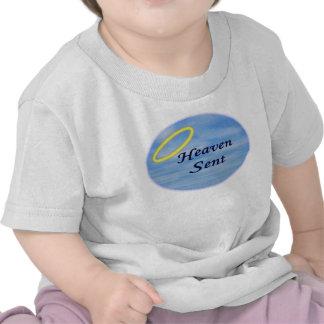 Bebé llovido del cielo camisetas