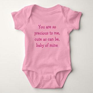 Bebé los míos t-shirt