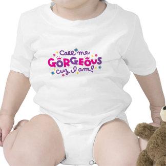Bebé magnífico trajes de bebé