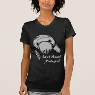 Bebé Manatí. ¡Protejelo! T-Shirt