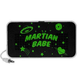 Bebé marciano iPhone altavoz