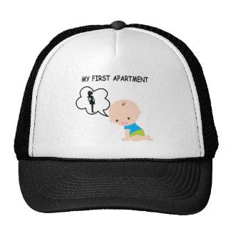 Bebé mi primer apartamento gorras