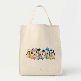 Bebé Mickey Mouse y amigos Bolsa Tela Para La Compra