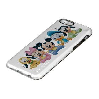Bebé Mickey Mouse y amigos Funda Para iPhone 6 Plus Incipio Feather Shine