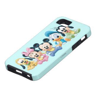 Bebé Mickey Mouse y amigos iPhone 5 Funda