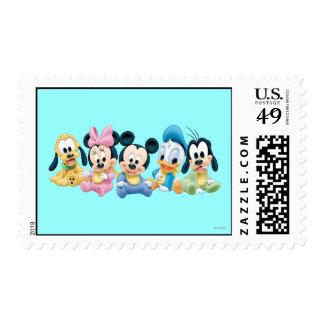 Bebé Mickey Mouse y amigos Sellos