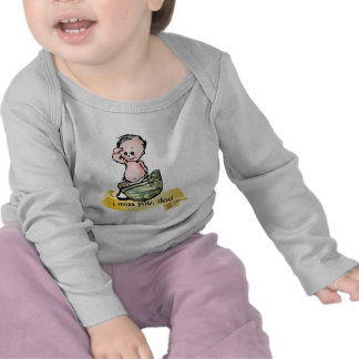 Bebé militar camiseta
