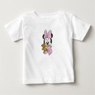 Bebé Minnie Mouse de Disney con el oso de peluche Tee Shirt
