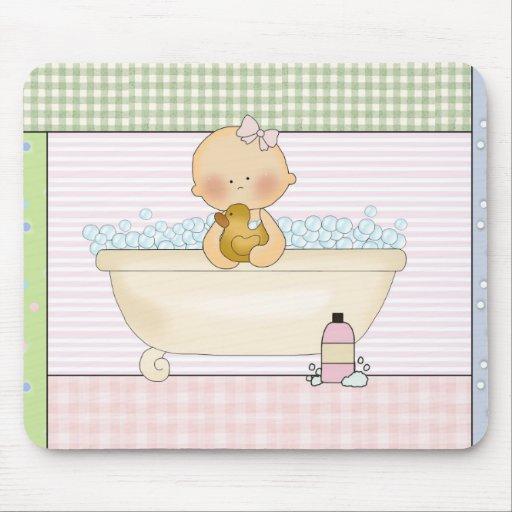 Bebé Mousepad: Colección dulce del bebé Alfombrilla De Raton