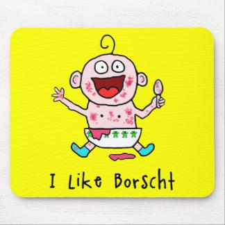 Bebé Mousepad del Borscht