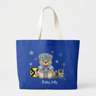 Bebé muy bolsas lienzo