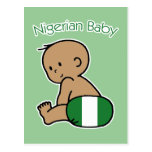 Bebé nigeriano tarjetas postales