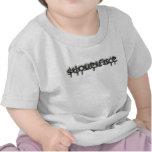 Bebé/niño del LOGOTIPO de SF BW Camisetas