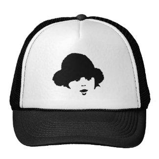 Bebé noir&blanc gorra