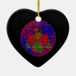 Bebé Nollaig Chridheil del ángel del navidad III Ornamentos Para Reyes Magos