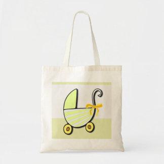 Bebé o fiesta de bienvenida al bebé agradable bolsa de mano