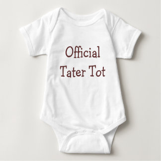 Bebé oficial de Tater Playera