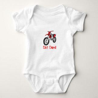 Bebé Onsie de la bici de la suciedad Mameluco De Bebé