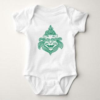 Bebé onza - Camiseta cobarde del león