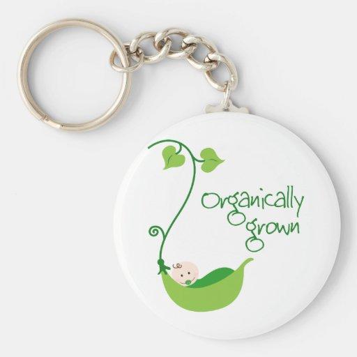 Bebé orgánico crecido llaveros