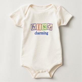 Bebé orgánico de príncipe el encantar mamelucos