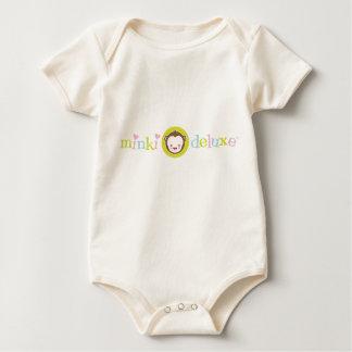 Bebé orgánico del desgaste de lujo del logotipo de enteritos