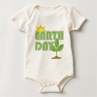 Bebé orgánico del Día de la Tierra Body Para Bebé