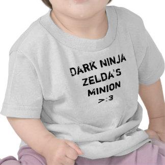 Bebé oscuro del subordinado de Ninja Zelda Camiseta