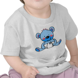 Bebé oso de peluche camiseta