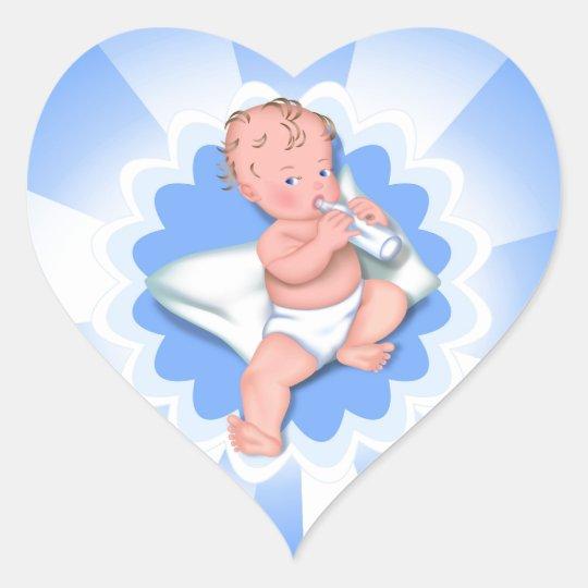 Bebé Pegatina En Forma De Corazón