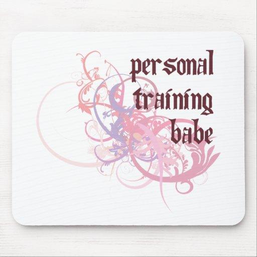 Bebé personal del entrenamiento tapete de ratón