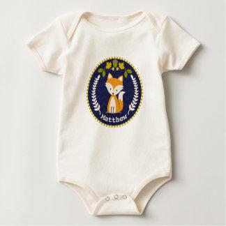 Bebé personalizado guirnalda del Fox Body De Bebé
