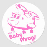 Bebé Phrog - nk Etiqueta Redonda