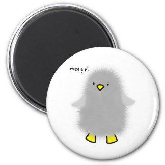 bebé-pingüino imán redondo 5 cm