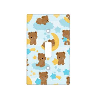 Bebé poco cuarto de niños del oso cubierta para interruptor