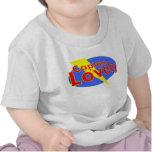 bebé precioso del capitán camiseta