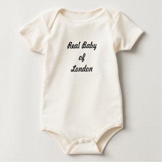 Bebé real de Londres: ¡Un gran regalo! Body Para Bebé