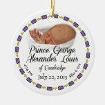 Bebé real - príncipe George Alexander Louis Adornos