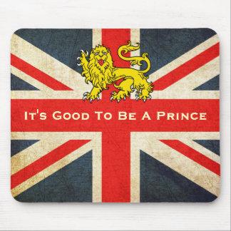 Bebé real su bueno ser un cojín del príncipe ratón tapete de raton