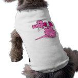 Bebé rosado lindo del dragón ropa para mascota