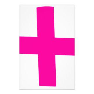 Bebé rosado papeleria personalizada