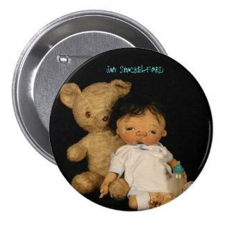 Bebé Santiago del botón de enero Shackelford