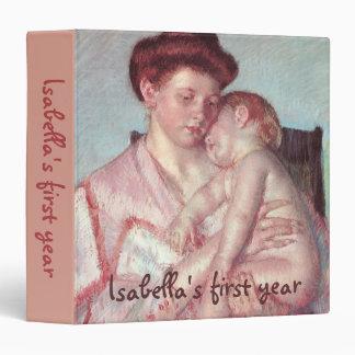 Bebé soñoliento de Mary Cassatt, impresionismo del