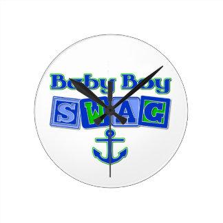 Bebé Swaag Reloj De Pared