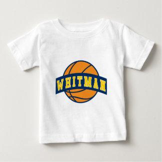 Bebé T - Blanco - baloncesto de la universidad de Camisas